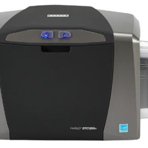 Impresora de credenciales DTC1250E – HID single