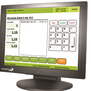 Monitor LE1017 – Bematech