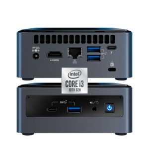 CPU NUC de INTEL i3 de Alto Rendimiento